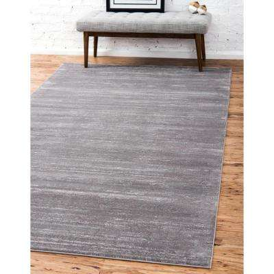 Uptown Collection by Jill Zarin™ Madison Avenue Gray 4' 0 x 6' 0 Area Rug