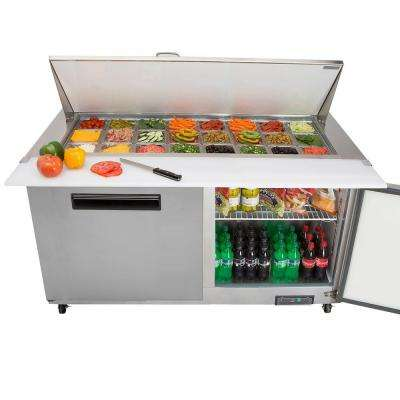 X-Series 15.5 cu. ft. Commercial Refrigerator in Stainless Steel