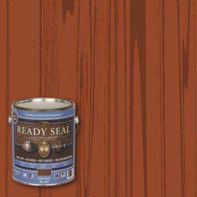 1 gal. Chestnut Ultimate Interior Wood Stain and Sealer