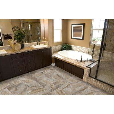 Eurasia Cafe 13.07 in. x 13.07 in. x 10mm Porcelain Mesh-Mounted Mosaic Tile (1.12 sq. ft.)