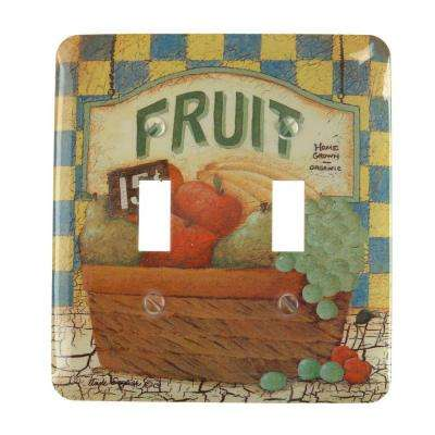 Fruit Basket 2 Toggle Wall Plate