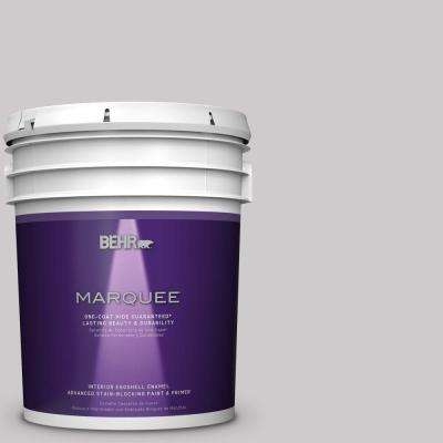 5 gal. #MQ3-28 Rock Crystal One-Coat Hide Eggshell Interior Paint