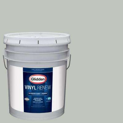 5 gal. #HDGCN11U Jade Frost Low-Lustre Exterior Paint with Primer