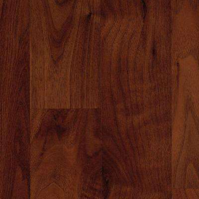Brentmore Russet Walnut Laminate Flooring - 5 in. x 7 in. Take Home Sample
