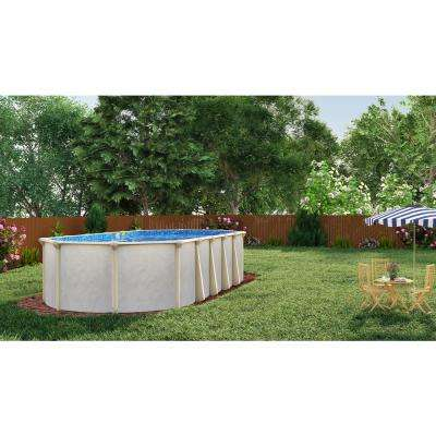 Floridian Oval Pool Package 52 in. D