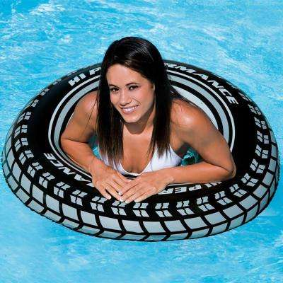 36 in. Inflatable Giant Tire Tubes for Swimming Pool/Lake/Ocean (8-Pack)