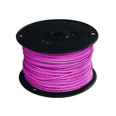 500 ft. 16 Pink Stranded TFFN Fixture Wire -