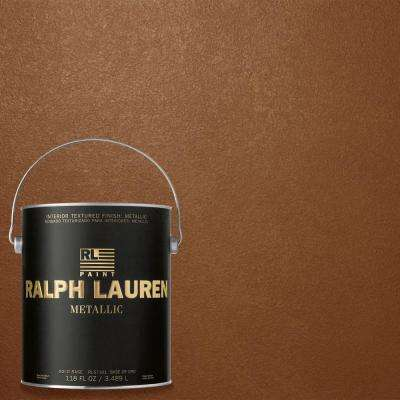 1-gal. Copper Luster Gold Metallic Specialty Finish Interior Paint