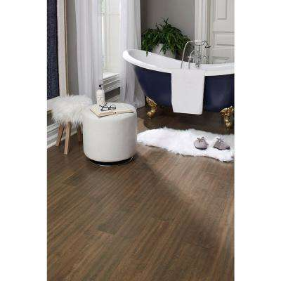 Tanned Leather 0.28 in. Thick x 5 in. W x Varying Length Waterproof Engineered Hardwood Flooring (16.68 sq. ft./case)