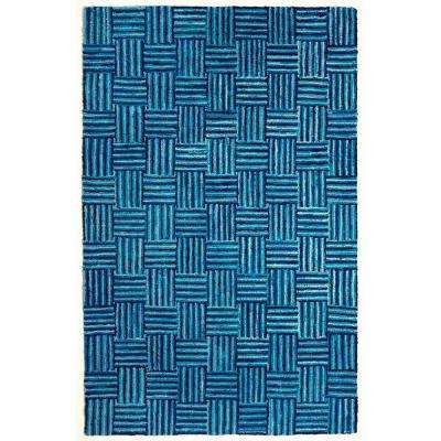 Susa Blue Skies Blue 5 ft. x 8 ft. Area Rug