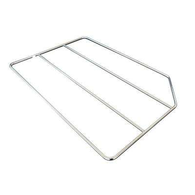 20x0.25x18 in. Tray Divider in Gloss Chrome