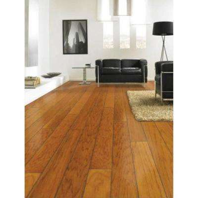 Hickory Golden Rustic 3/8 in. Thick x 4-3/4 in. Wide x Random Length Engineered Click Hardwood Flooring (33 sq.ft./case)