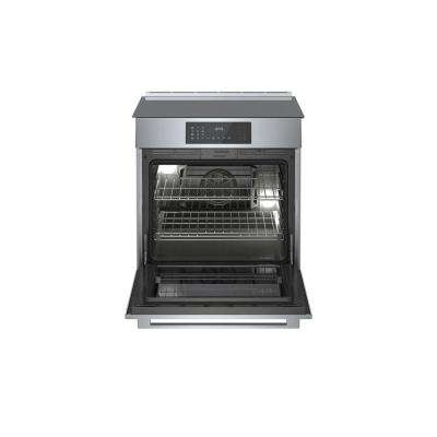 800 Series 30 in. 4.6 cu. ft. Slide-In Induction Range with Self-Cleaning Convection Oven in Stainless Steel