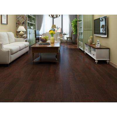 Wild Cherry 1/3 in. Thick x 4.96 in. Wide x 47.83 in. Length Laminate Flooring (19.77 sq. ft.)