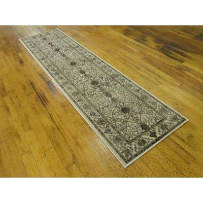 La Jolla Traditional Brown 2' 7 x 10' 0 Runner Rug