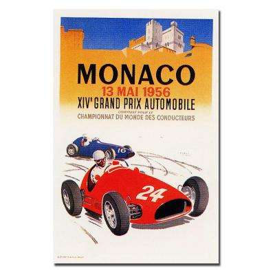 18 in. x 24 in. Monaco 1956 by George Ham Canvas Art