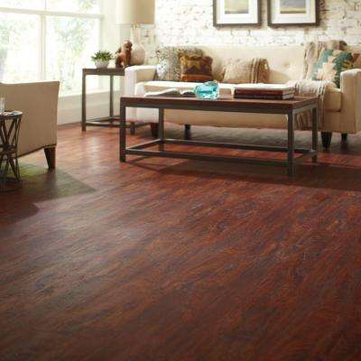 Cherry 6 in. x 36 in. Luxury Vinyl Plank Flooring (24 sq. ft. / case)