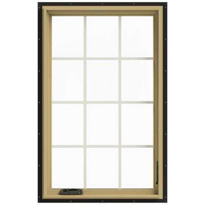 30 in. x 48 in. W-2500 Right-Hand Casement Aluminum Clad Wood Window