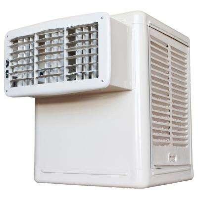 2,800 CFM 115-Volt 2-Speed Front Discharge Window Evaporative Cooler (Swamp Cooler) for 600 sq. ft. (with Motor)