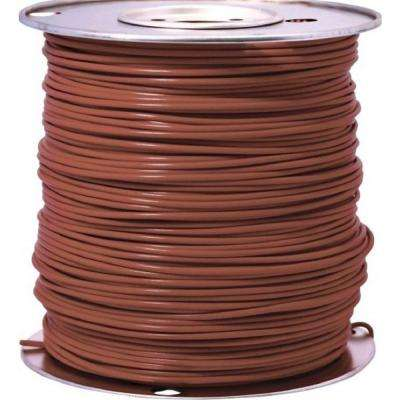 1000 ft. 18 Brown Stranded CU GPT Primary Auto Wire
