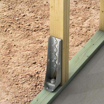 HDU 13-3/16 in. Galvanized Predeflected Holdown with Strong-Drive SDS Screws