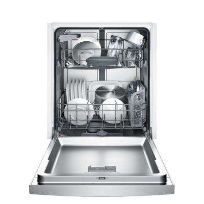 100 Series Front Control Tall Tub Dishwasher in Anti-Fingerprint Stainless Steel with Hybrid Stainless Steel Tub, 50dBA