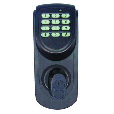 Brushed Bronze Electronic Keypad Deadbolt