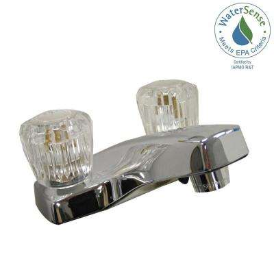 Dominion 4 in. Centerset 2-Handle Bathroom Faucet in Chrome