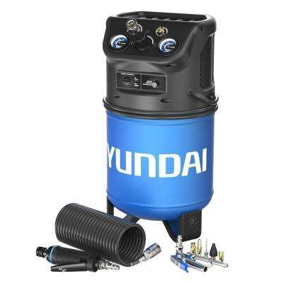 3 Gal. Portable Electric Air Compressor Craft Kit with Mini Die Grinder