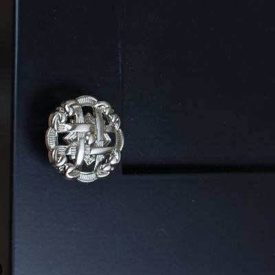 1-3/8 in. Dia Round Celtic Medallion Cabinet Knob (10-Pack)