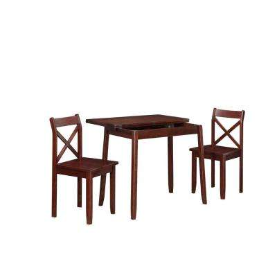 Dover 3-Piece Dining Set in Walnut