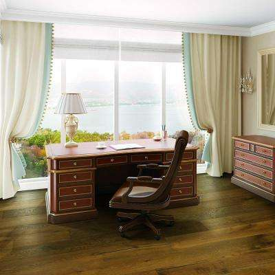 Elegant Home Caramel Oak 9/16 in. x 7-4/9 in. Wide x Varying Length Engineered Hardwood Flooring (22.32 sq. ft. / case)