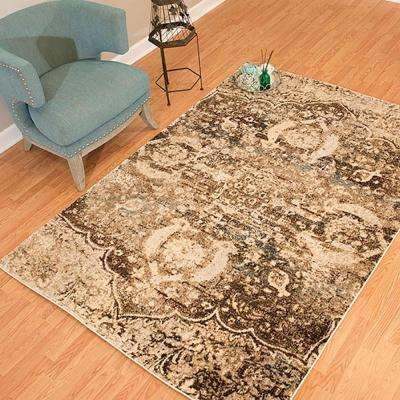 Jules Imperial Brown 5 ft. x 7 ft. Area Rug