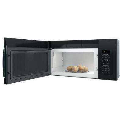 1.7 cu. ft. Over the Range Microwave with Sensor Cooking in Black