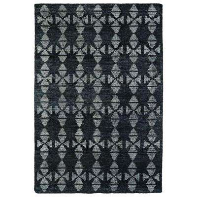 Solitaire Charcoal 2 ft. x 3 ft. Area Rug