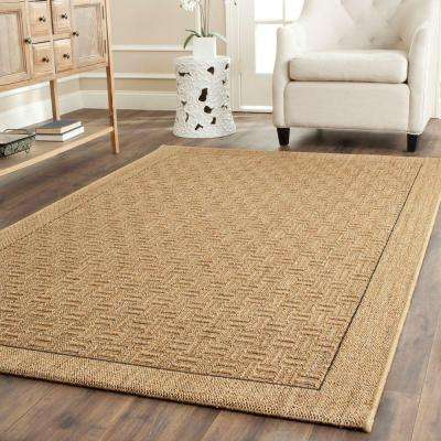 Palm Beach Natural 4 ft. x 6 ft. Area Rug