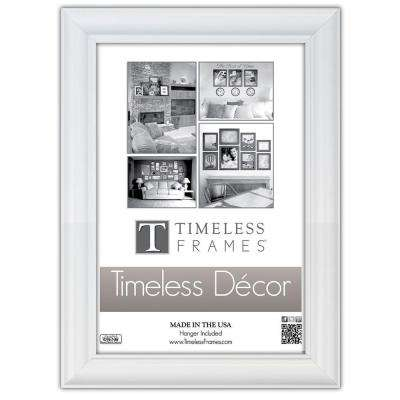 Boca 1-Opening 18 in. x 24 in. White Picture Frame