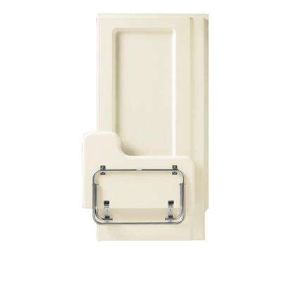 OC-SS-39-ADA 40.625 in. x 65.5625 in. 1-piece Direct-to-Stud Transfer Shower Right Wall in Biscuit