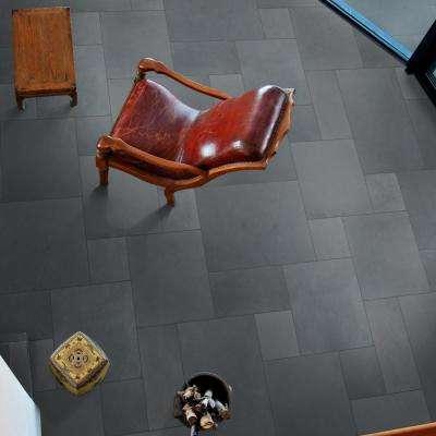 Montauk Blue Ashlar Pattern Gauged Slate Floor and Wall Tile (5 Kits/80 sq. ft./pallet)