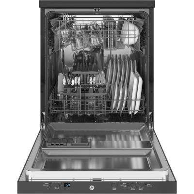 Portable Dishwasher in Stainless Steel with 12 Place Settings Capacity, 54 dBA
