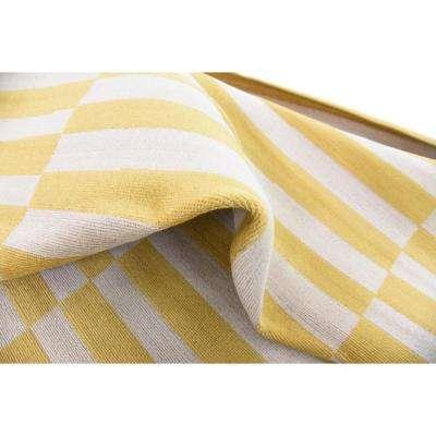 Williamsburg Striped Yellow 8' 0 x 10' 0 Area Rug