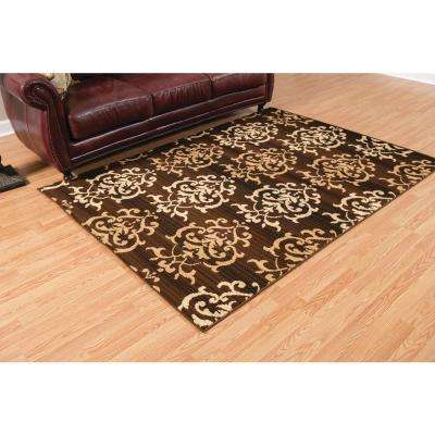Dallas Countess Brown 5 ft. x 7 ft. Indoor Area Rug