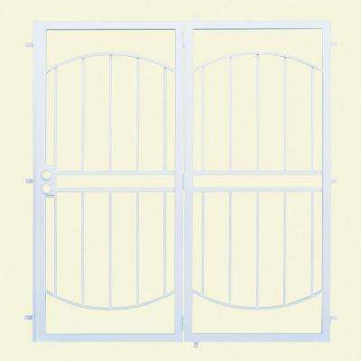 Arcada Patio Steel Security Door with No Screen