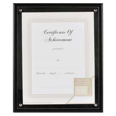 1-Opening 8.5 in. x 11 in. Document Matted Picture Frame