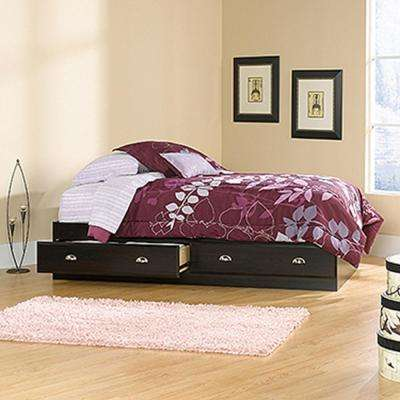 Shoal Creek Collection Jamocha Wood Twin-Size 2-Drawer Mate's Bed