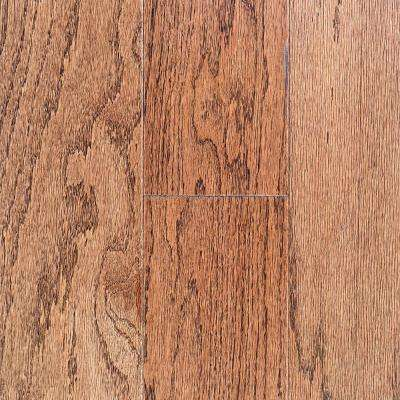 Oak Bourbon 3/8 in. Thick x 3 in. Wide x Random Length Engineered Hardwood Flooring (25.5 sq. ft. / case)