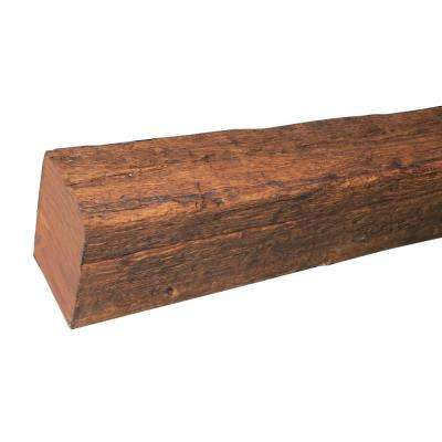 13 in. x 15 in. x 19 ft. Faux Wood Rustic Beam