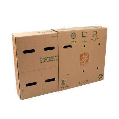 Medium TV and Picture Moving Box - Max capacity 45lbs.