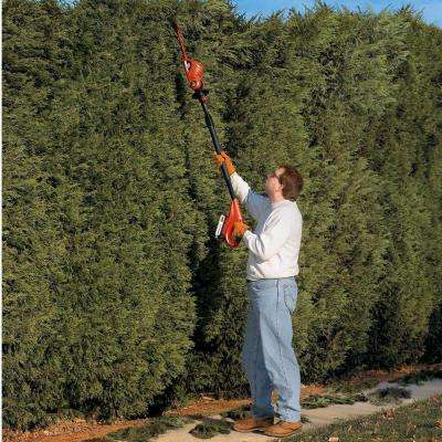 18 in. 20-Volt MAX Lithium-Ion Cordless Pole Hedge Trimmer (Tool Only)