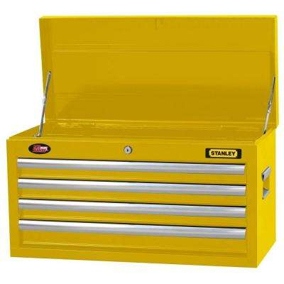 26 in. 4-Drawer Tool Chest in Wide Yellow